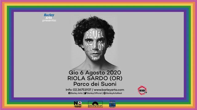 Il Revelation Tour di Mika sbarca in Sardegna